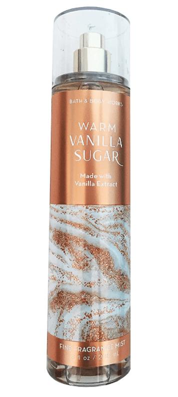Bath and Body Works Warm Vanilla Sugar Fragrance Mist