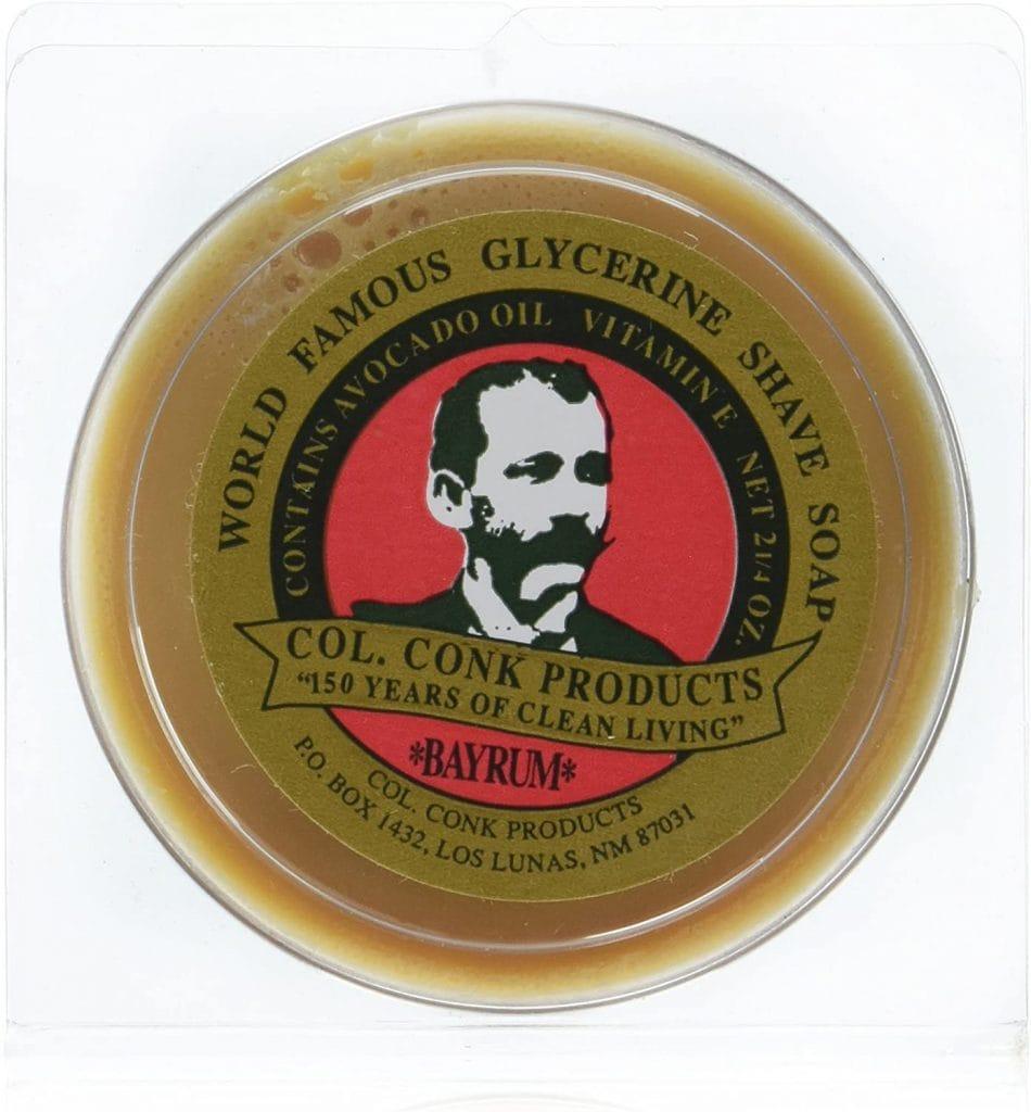 Col. Conk Bay Rum Shaving Soap