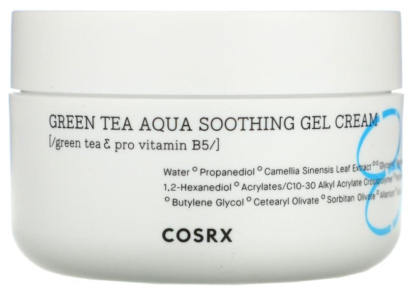 Cosrx Green Tea Aqua Soothing Gel Korean Moisturizer Cream
