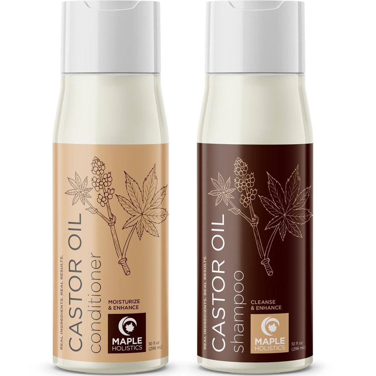 Maple Holistics Castor Oil Shampoo and Conditioner