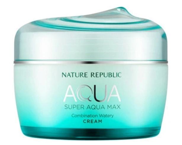 Nature Republic Super Aqua Max Combination Watery Korean Moisturizer Cream
