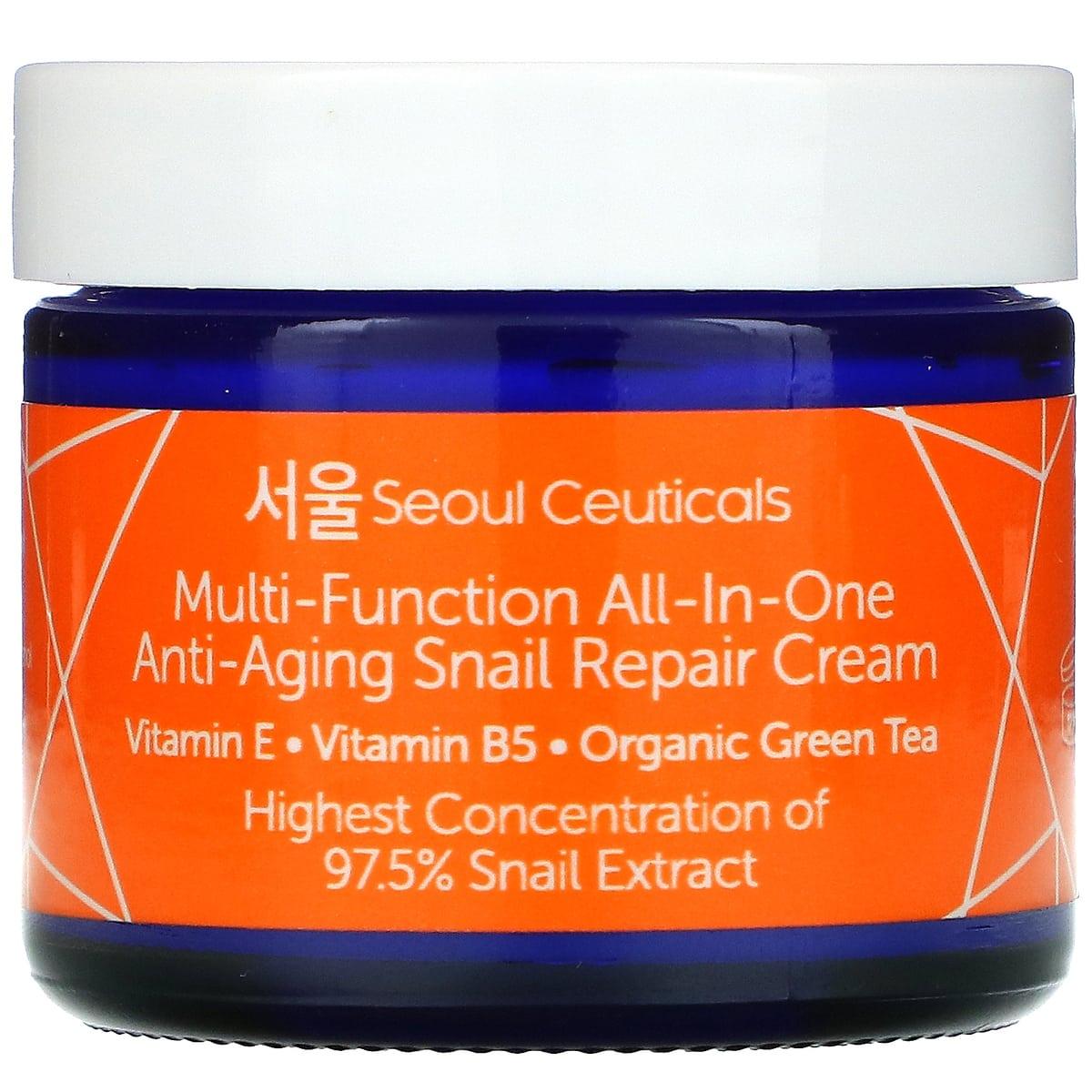 SeoulCeuticals All-in-One Snail Repair Korean Moisturizer Cream