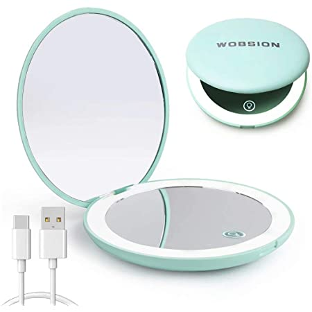 Wobsion Rechargeable Compact Mirror